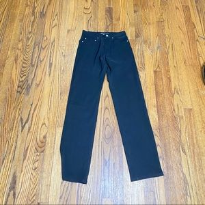 Versace jeans couture high rise size 27 black